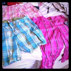 Capris shorts pants